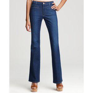 Mih Marrakesh Mid Rise Kick Flare Jeans